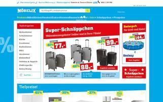 Möbelix Webseiten Screenshot