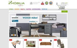 Möbilia Webseiten Screenshot