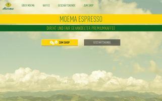 Moema Webseiten Screenshot