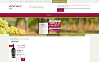 moevenpick-wein.de Webseiten Screenshot