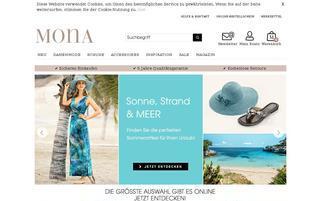 Mona Webseiten Screenshot