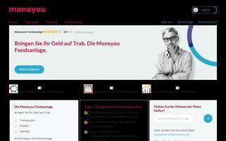 MoneYou Webseiten Screenshot