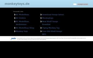 monkeytoys.de Webseiten Screenshot