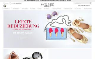 MONNIER Freres Webseiten Screenshot