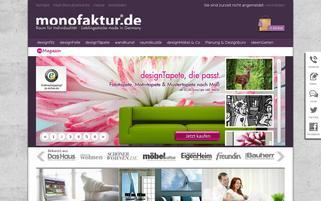 Monofaktur Webseiten Screenshot