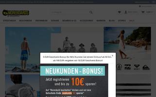 Moreboards Webseiten Screenshot