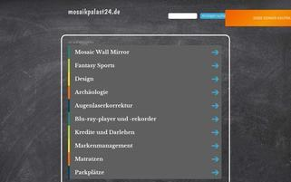 Mosaikpalast24 Webseiten Screenshot