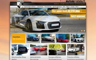Motion Drive Webseiten Screenshot