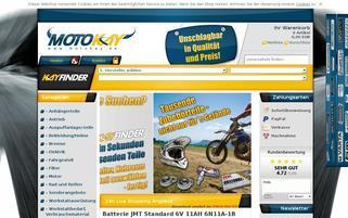 Motokay Webseiten Screenshot