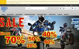 Motorrad-Ecke Webseiten Screenshot