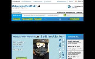 MotorradreifenDirekt.at Webseiten Screenshot