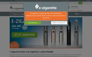 Mr. Smoke Webseiten Screenshot