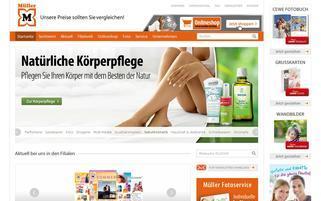 Müller Webseiten Screenshot