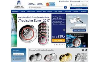 Münzkontor Webseiten Screenshot