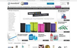 mundizio.de Webseiten Screenshot