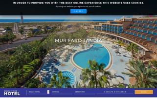 Mur Hotels Webseiten Screenshot