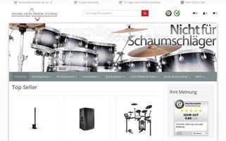musicandmorestore.de Webseiten Screenshot