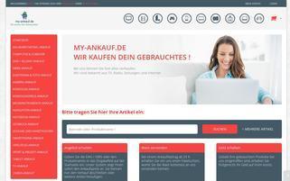 my-ankauf.de Webseiten Screenshot