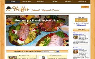 My-Buffet Webseiten Screenshot