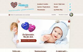 my-pebbles.com Webseiten Screenshot