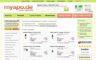 myapo.de Webseiten Screenshot