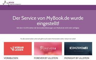 MyBOOK.de Webseiten Screenshot