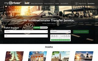 myDriver Webseiten Screenshot