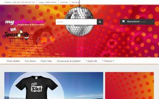 mygafas.com Webseiten Screenshot