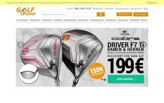 MyGolfOutlet Webseiten Screenshot
