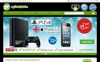 myhandydeal.de Webseiten Screenshot