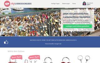myliebesschloss.de Webseiten Screenshot