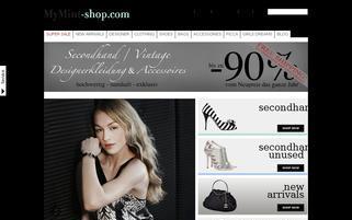 MyMint-shop.com Webseiten Screenshot