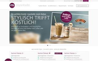 myonbelle Webseiten Screenshot