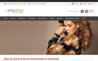 MyOnlyShop Webseiten Screenshot