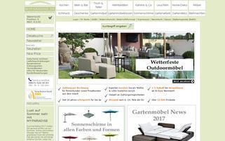 Myparadise Webseiten Screenshot
