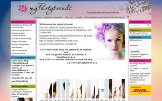 myPartytrends Webseiten Screenshot