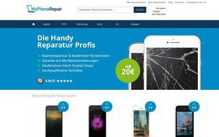 myphonerepair Webseiten Screenshot
