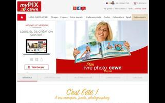 myPIX Webseiten Screenshot