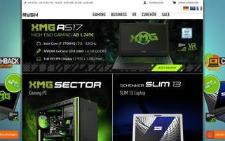 mySN Webseiten Screenshot