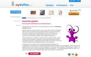 myStofftier Webseiten Screenshot