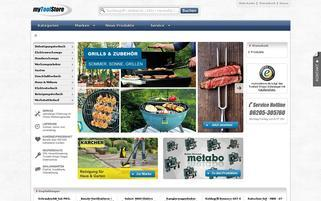 myToolStore Webseiten Screenshot