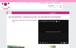 mytransferfactor.eu Webseiten Screenshot