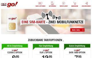 n-tv go! Webseiten Screenshot