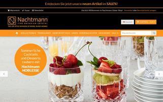 Nachtmann Webseiten Screenshot