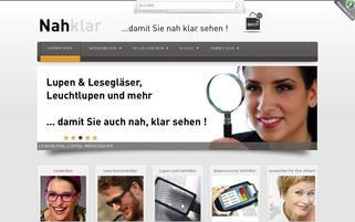 NahKlar.ch Webseiten Screenshot