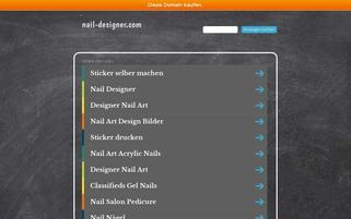 nail-designer.com Webseiten Screenshot