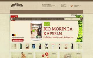 nakur.de Webseiten Screenshot