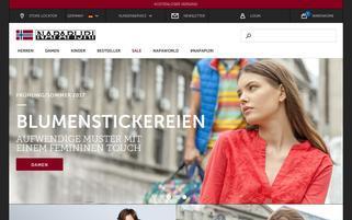 Napapijri Webseiten Screenshot