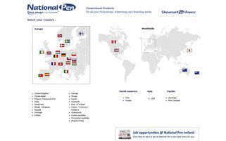 National Pen Webseiten Screenshot