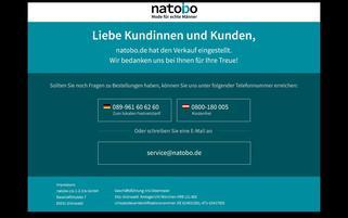 natobo.de Webseiten Screenshot